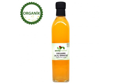 Organik Alıç Sirkesi 250ml